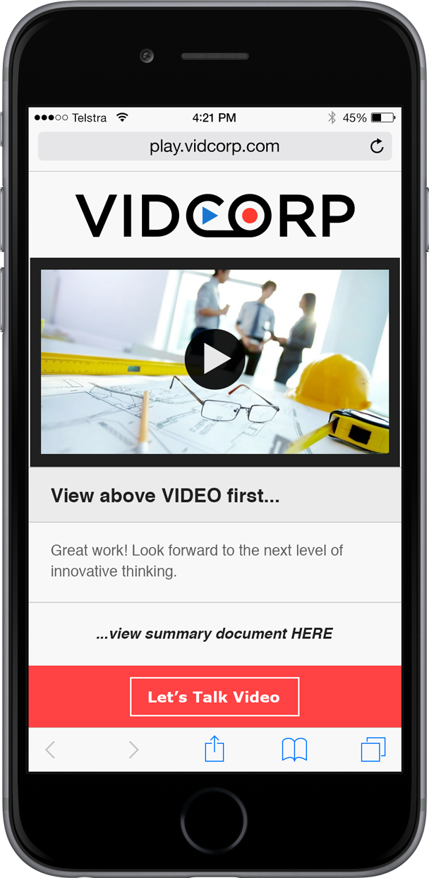 VidCorp Construction demo