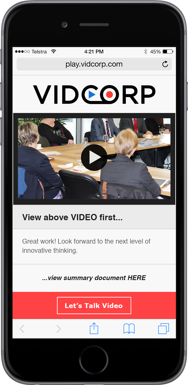 VidCorp Government demo