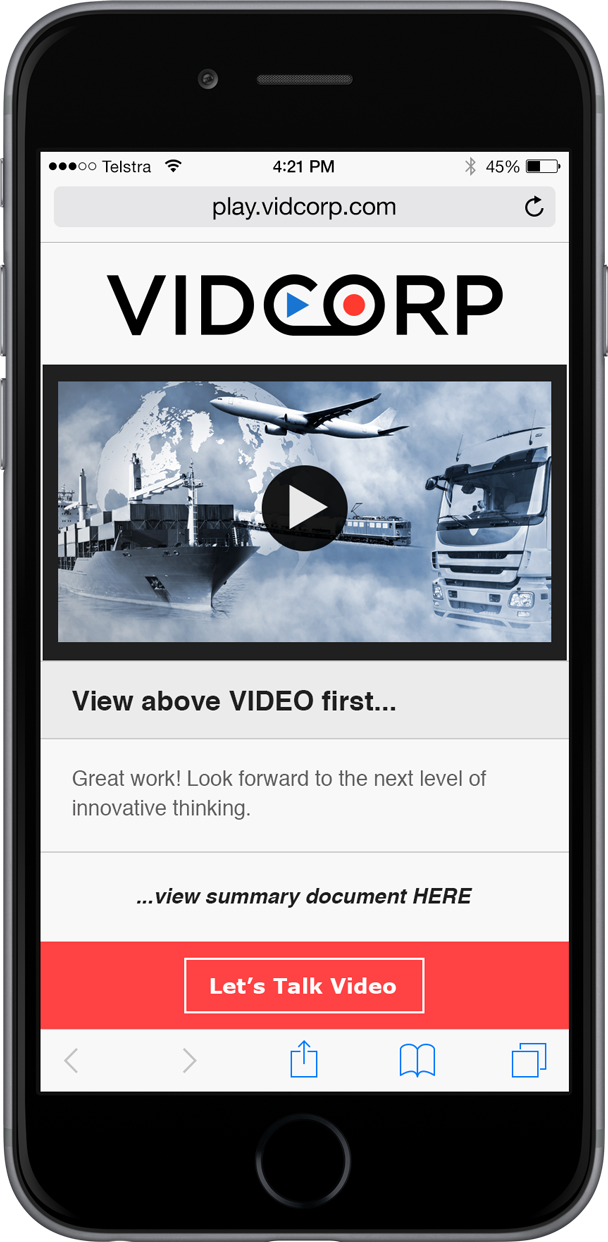 VidCorp logistics demo
