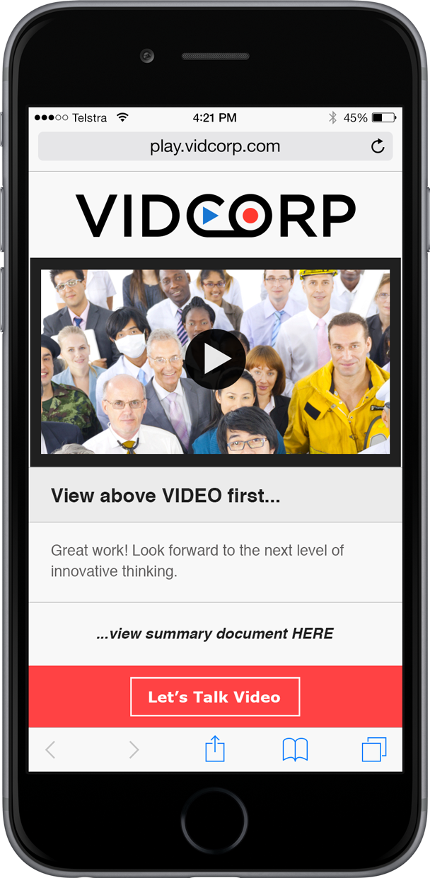 Vidcorp staffing demo