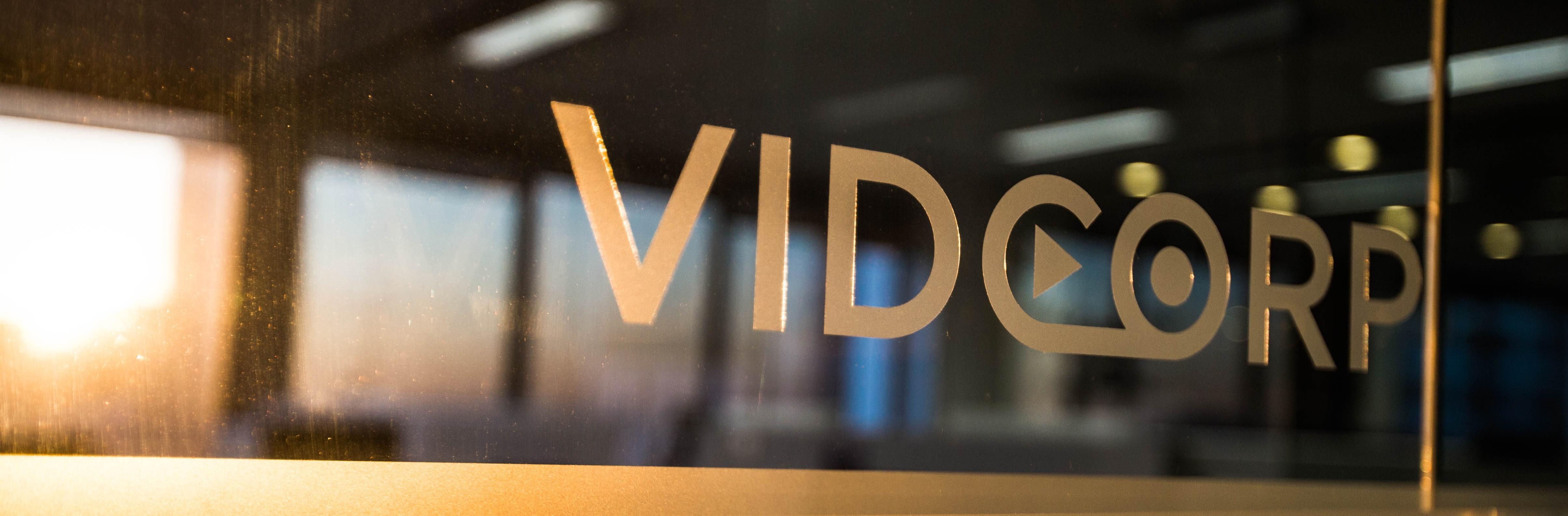 VidCorp Office Window