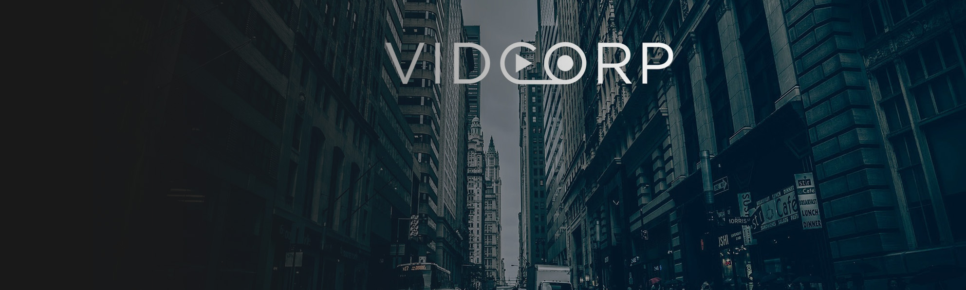 VidCorp Logo City