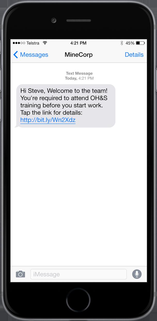 Mining text demo