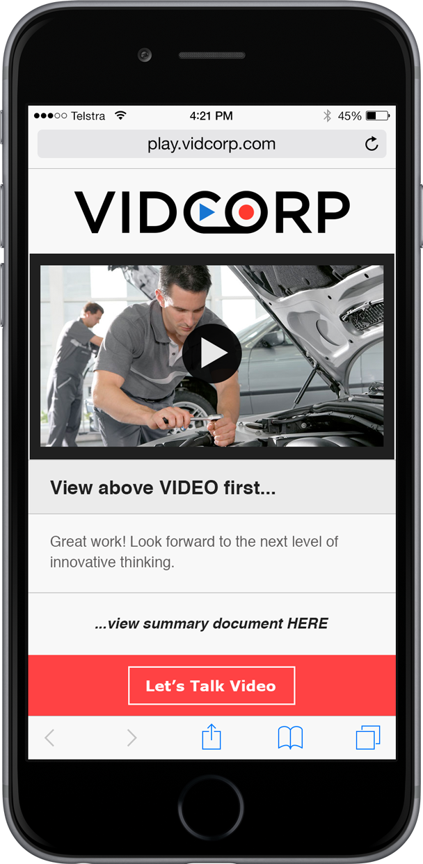 VidCorp Automotive demo