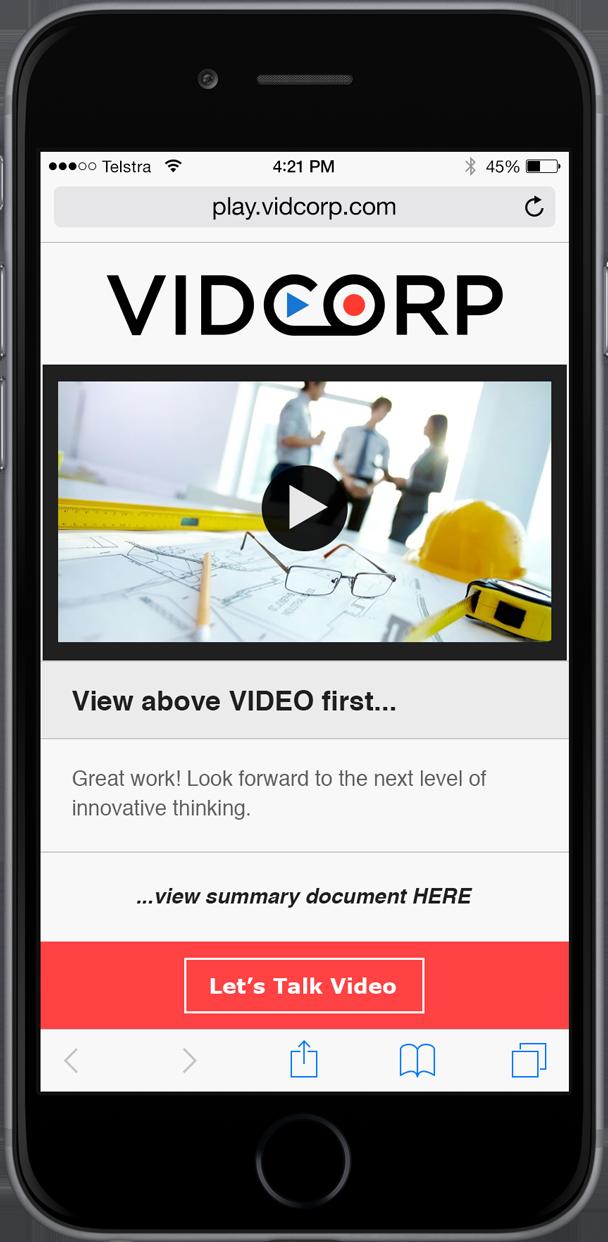 VidCorp Construction demo