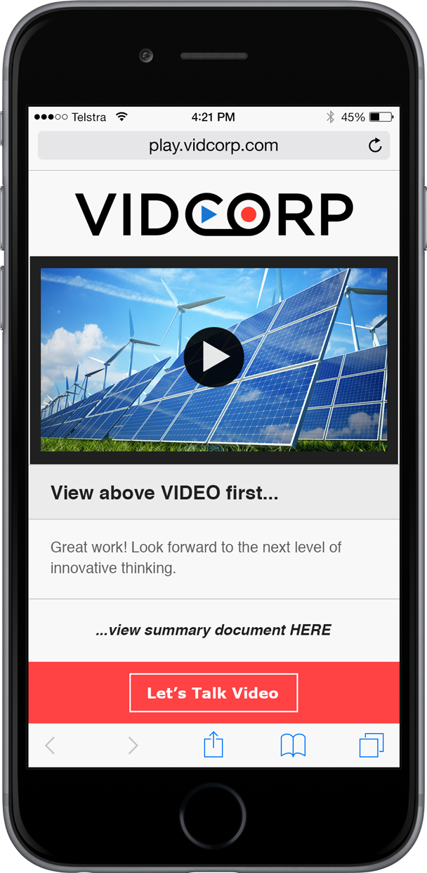 Energy VidCorp Demo