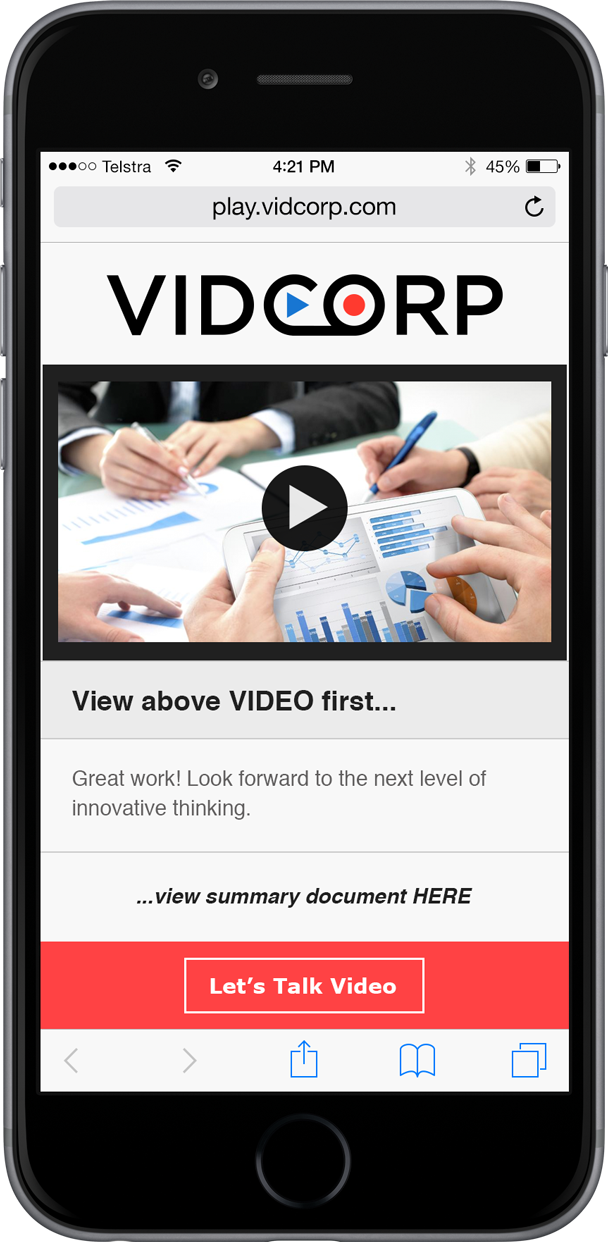 VidCorp Finance demo