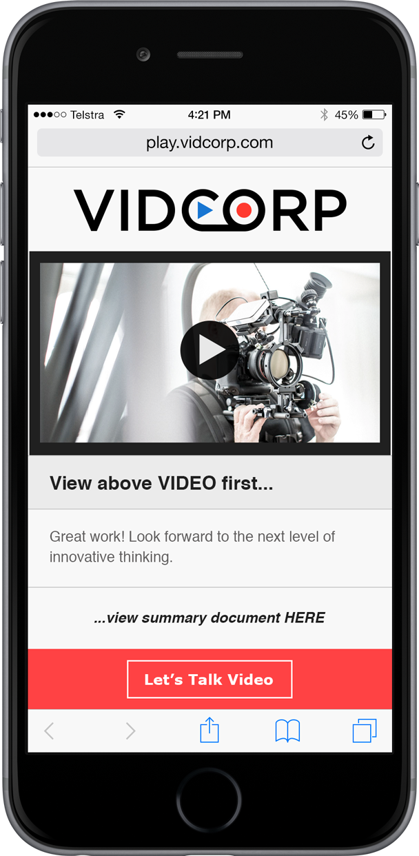 VidCorp media demo